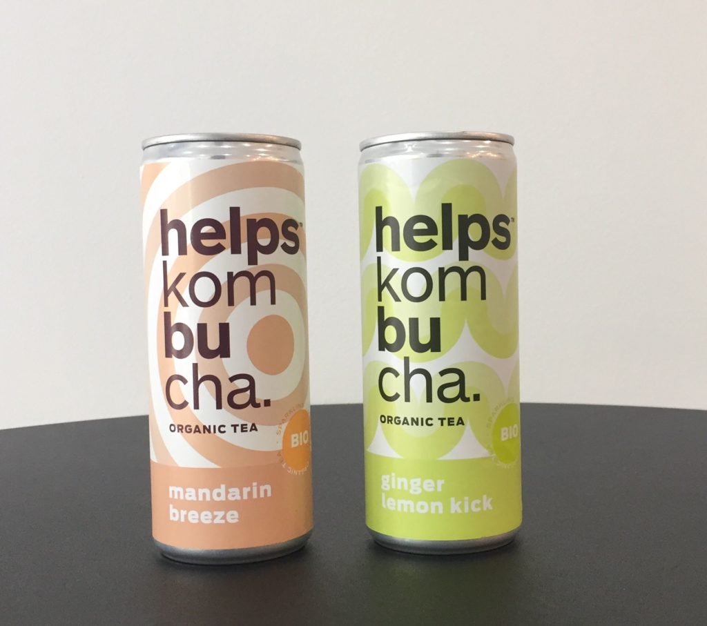 Kombucha Helps de la Tetera Azul en Ritmo Café